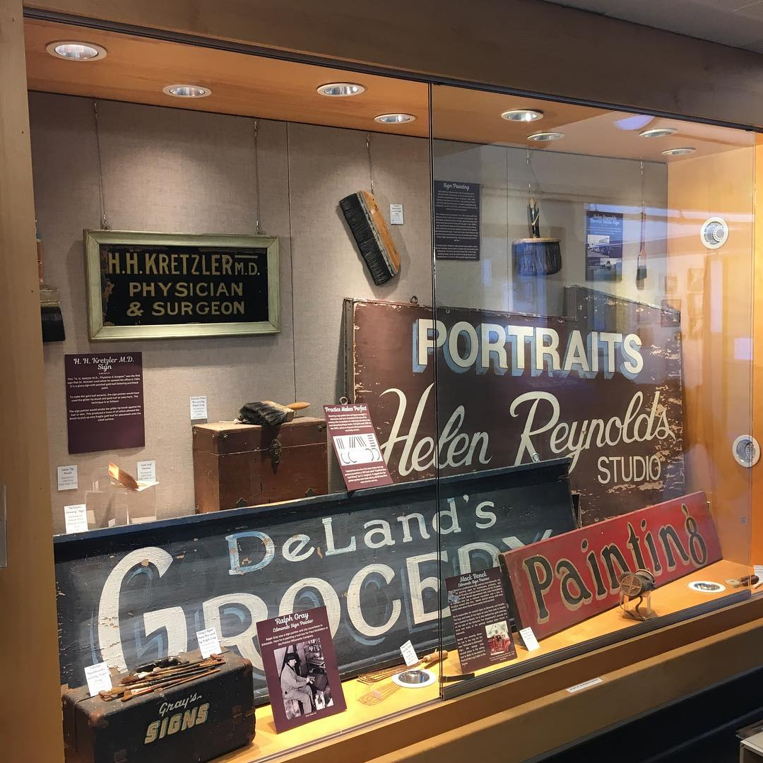 image of display case space